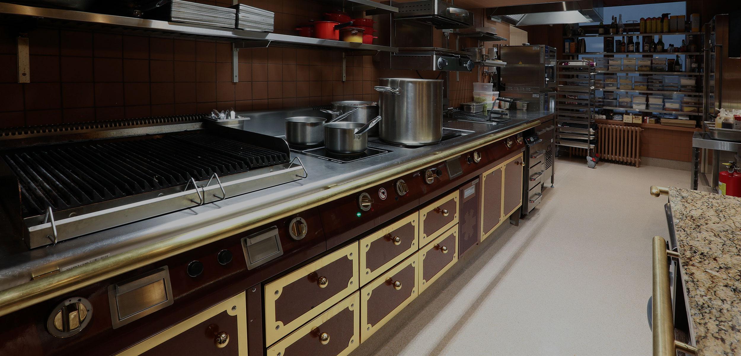 Профессиональные кухни à la Мetos